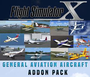 Détails sur Flight Simulator X FSX AddOn Bundle-Aviation Générale - 20+  NOUVEAU!- afficher le titre d'origine