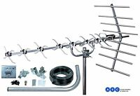 4G READY 48 ELEMENT HIGH GAIN DIGITAL TV AERIAL FREEVIEW HD LOFT OR OUTDOOR