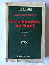LA CHAMBRE DU HAUT 1950 MILFRED DAVIS SERIE BLEME N°15