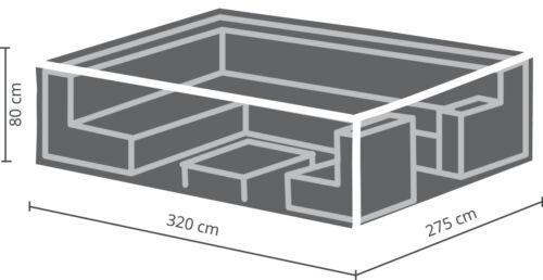 Premium Schutzhülle für Loungegruppen 260x200x80cm