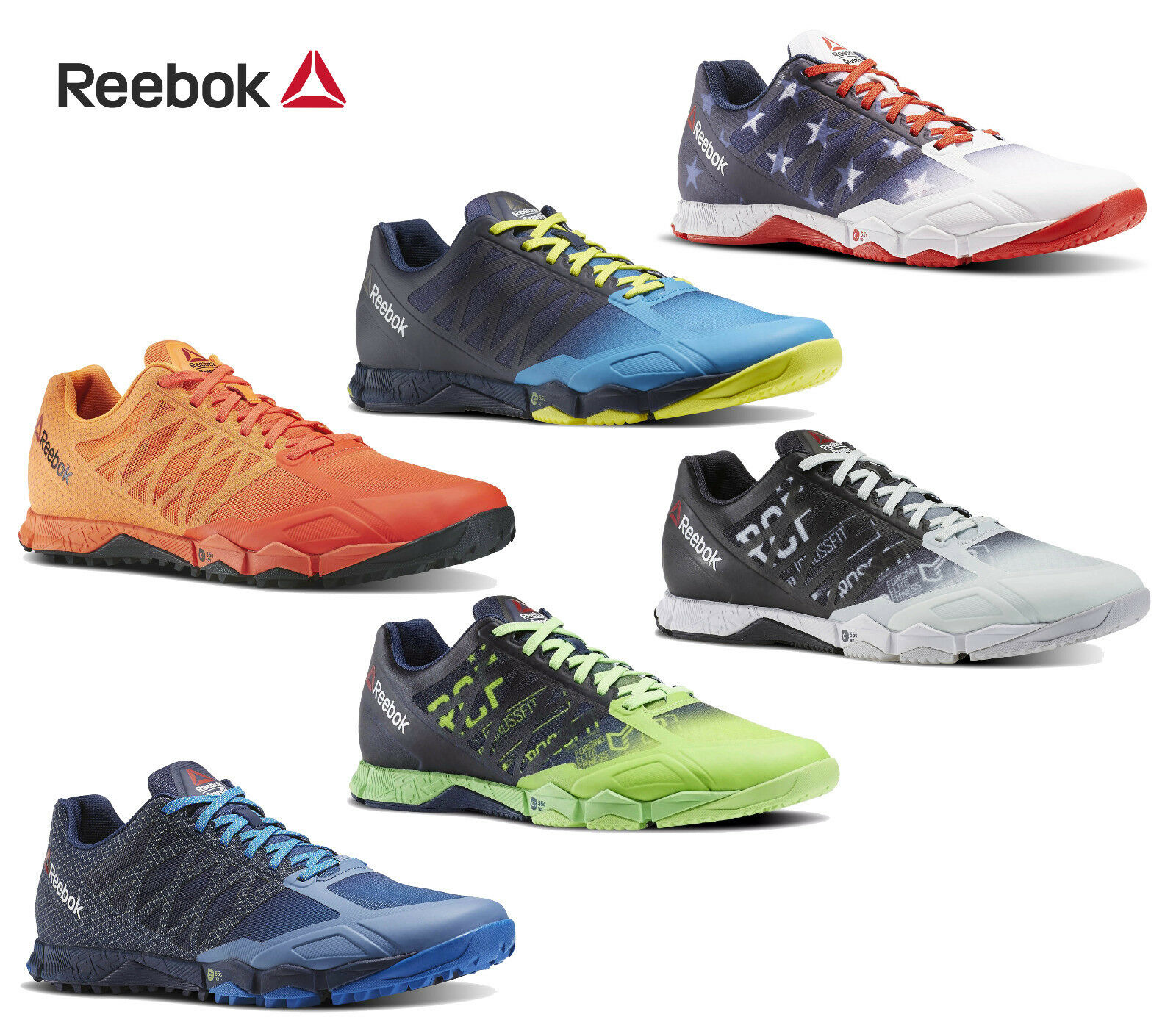 Mens Reebok Crossfit Speed Field Cross  Training shoes NEW  general high quality