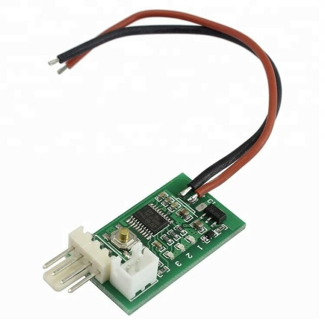 DC 12V 3A 4Pin PWM PC CPU Fan Temperature Control Thermostat Speed Controller