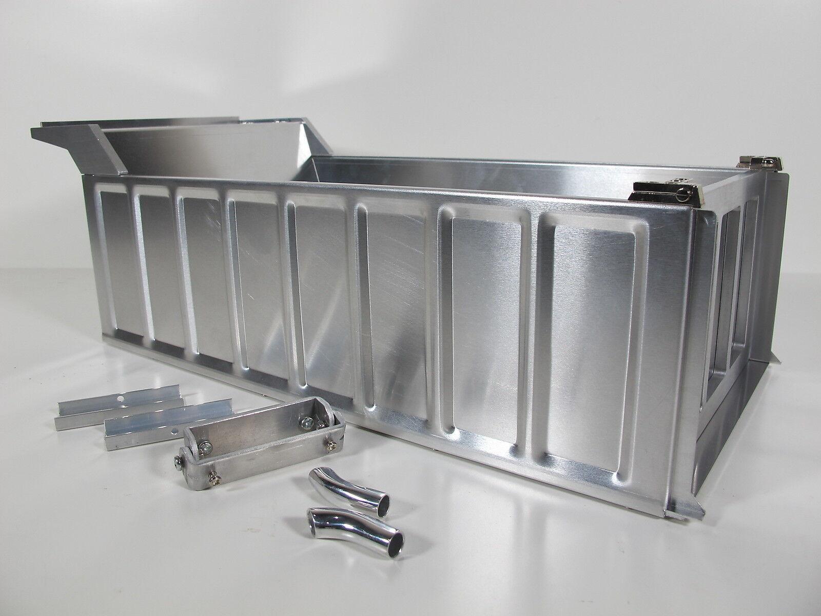 Nuovo Custom Aluminum Dump Bed Tipper Conversion Kit Tamiya 1/14 King Grand Hauler