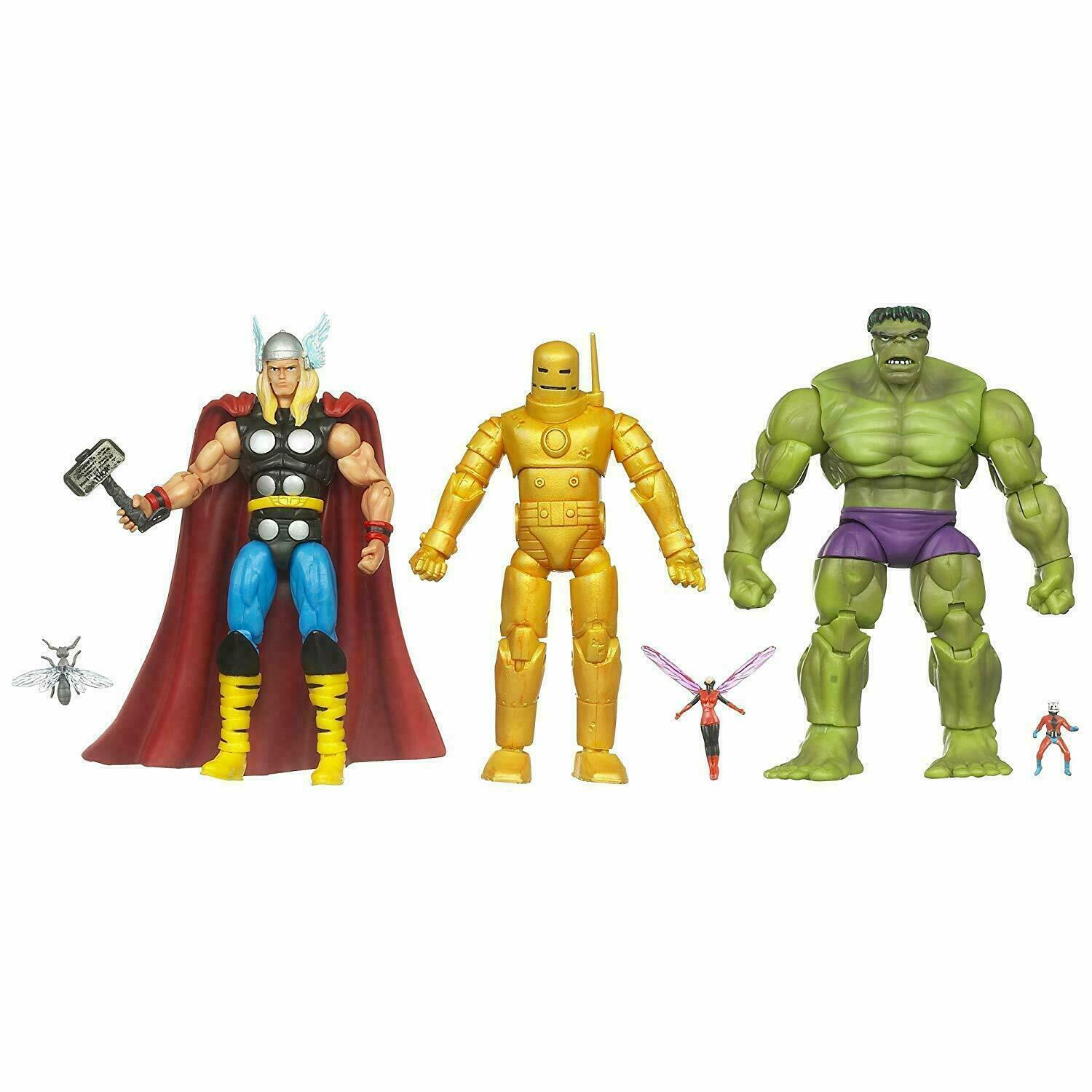 Marvel Universe Classic Avengers Action Figure Thor Iron Man Hulk Ant-Man Wasp