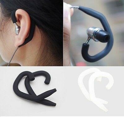 Running Sports Ear Hook Earhook for Earphone Earbud Circular Round Line Cable