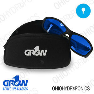 Grow1 GRUVE HPS Glasses 1-3 PAIR (Grow Room Ultra Violet Protectors/Eli<wbr/>minators)