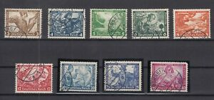 G3305-GERMANY-REICH-WAGNER-MI-499-507-COMPLETE-USED-CV-420