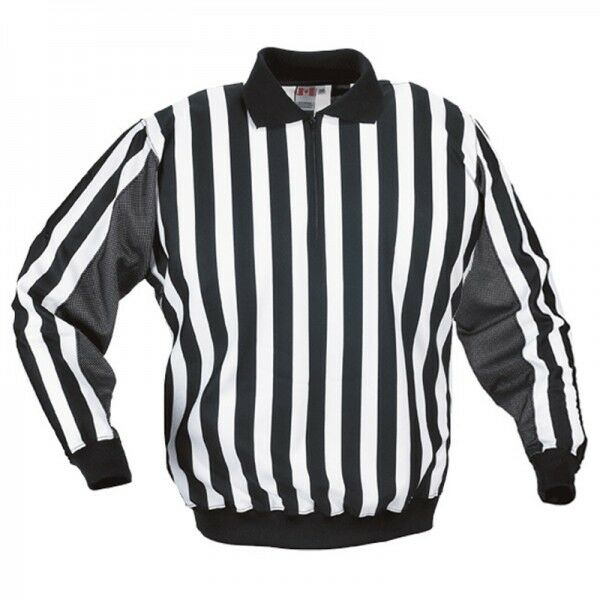 21527ceb531 CCM Pro160s Pro Hockey Referee Sweater Jersey Size 56 Linesman Ref Official  for sale online