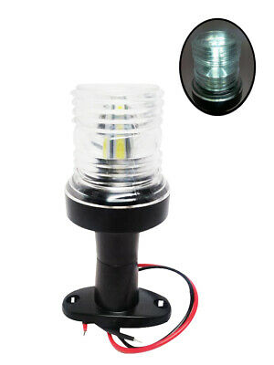 Pactrade Marine Boat Pontoon All Round Fixed Mount Navigation Light Up To 12M