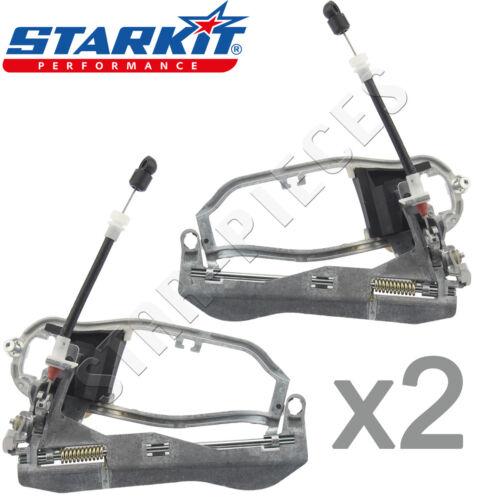 2 x CADRE DE POIGNEE DE PORTE INTERIEURE AVANT GAUCHE DROIT BMW X5 E53 99-06