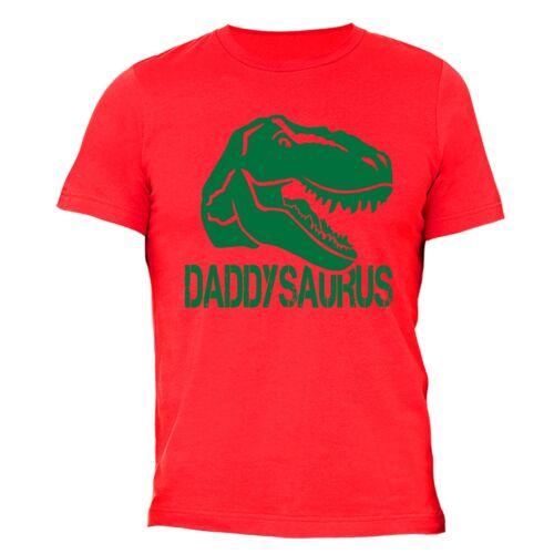 Father/'s Day gift tshirt Dad T-shirt King Daddysaurus Husband Dinosaur T rex