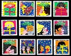 France 2015 Happy New Year Complete Set of Stamps P Used S/A
