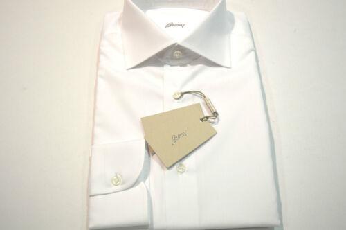Euse21 100katoen Maat Us Nieuw White 41 16 overhemd Brioni QdCBErxeoW