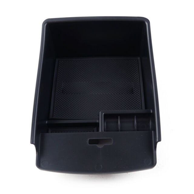 Center Console Armrest Storage Box Tray Holder Fit For