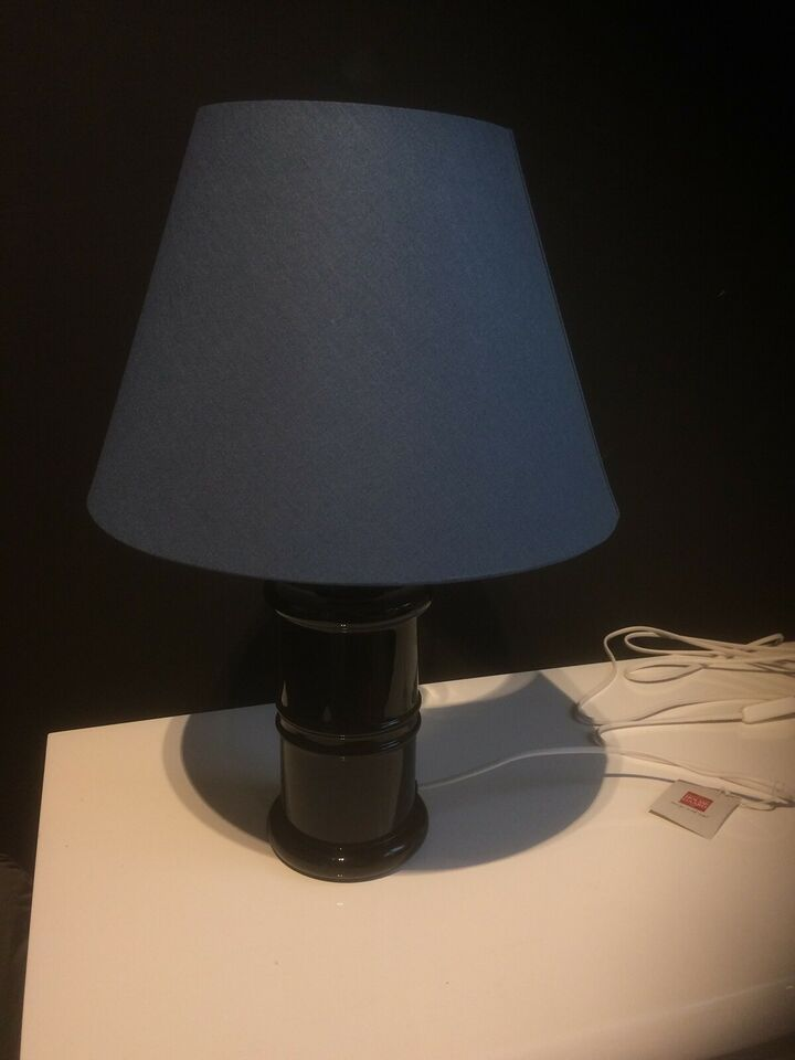 Skrivebordslampe, Holmegaard Apoterker i sort