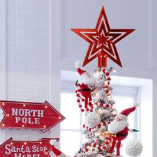 101520cm star christmas tree topper ornament home holiday xmas party diy decor