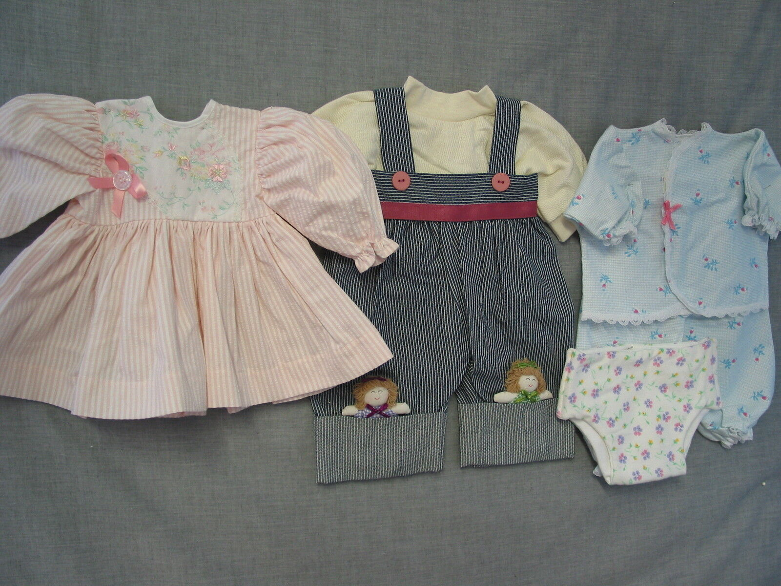 Middleton Berenger Reborn Doll Clothes 19-21  DOLL DREAMS 3 Outfits  Lot G Sale