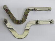 CLASSIC AUSTIN ROVER MINI STAINLESS BONNET HINGES MK3 1970-2001 C/W FITTINGS