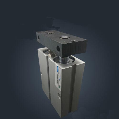 TN32X80 32mm X 80mm doble Barra Cilindro de Aleación de Aluminio Aire Neumático