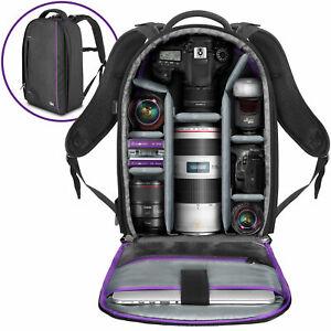 Gran-Camara-Mochila-Bolso-Para-Canon-Nikon-Sony-DSLR-amp-Mirrorless-por-Altura-Foto