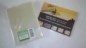 100-Ansichtskarten-Schutzhuellen-KOBRA-T13-Din-A6-Postkarten-und-Fotos-110x155mm