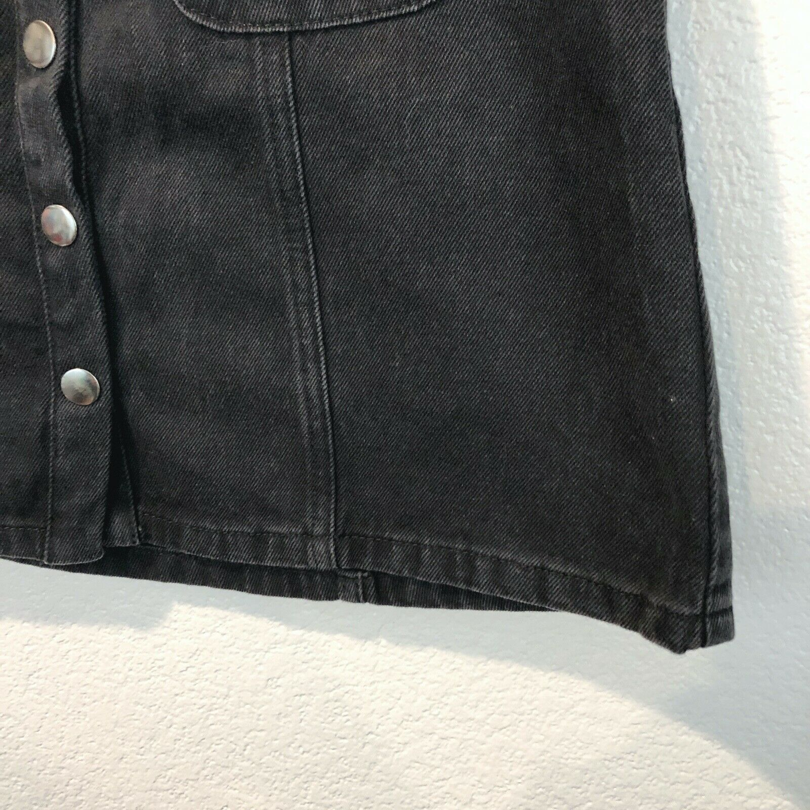Urban Outfitters BDG Women's Size small Black Den… - image 3