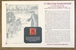 Commemorative-Stamps-Issues-2c-Valley-Forge-Sesquicentennial-May-26-1982
