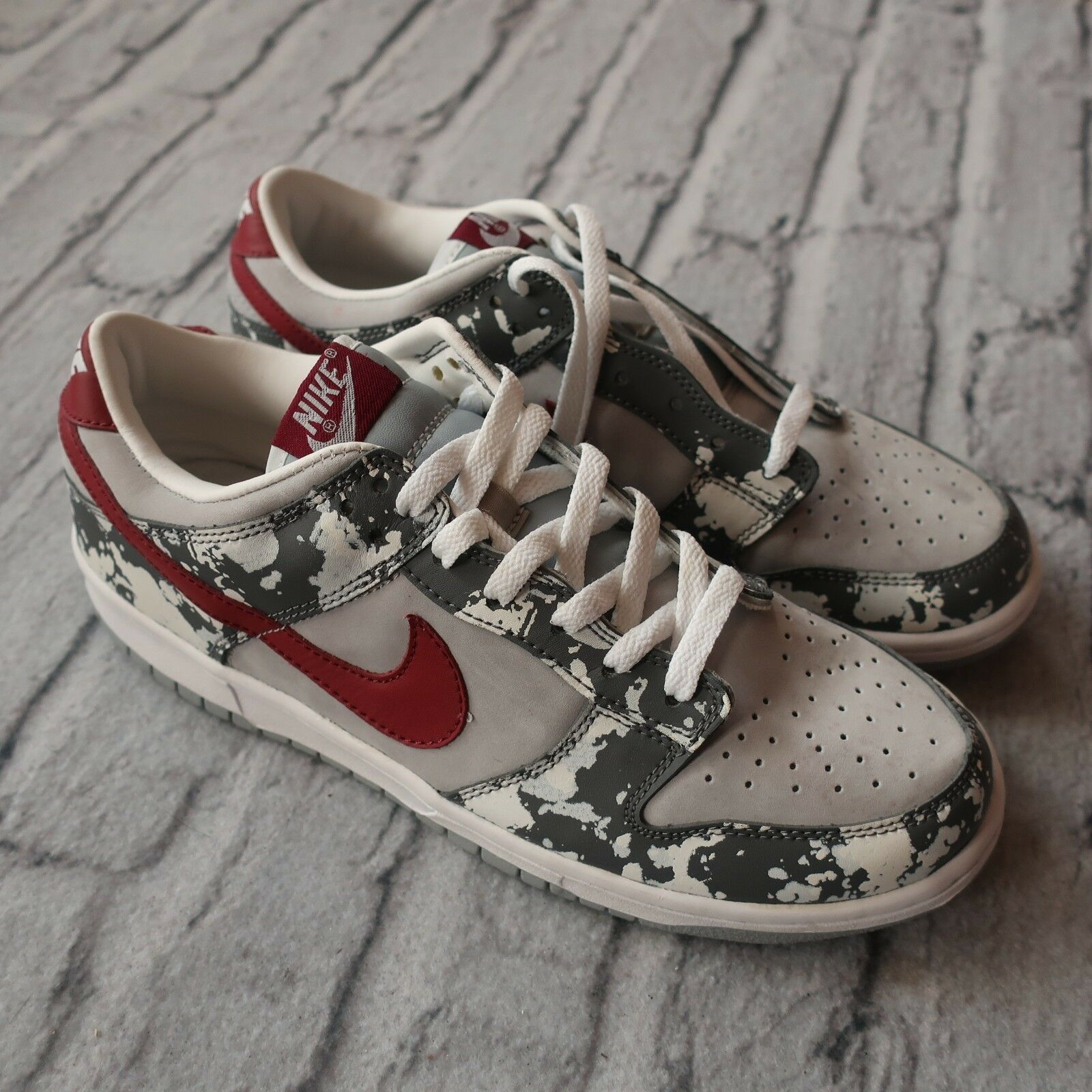 Vintage 2002 Nike Dunk Premium Splatter shoes 305979-061 Size 9.5