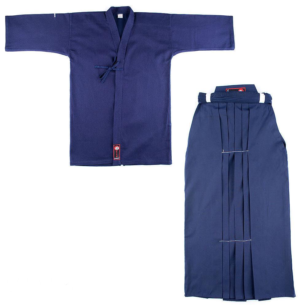 KENDO SET BASIC HAKAMA blu e e e KEIKOGI GI KENJUTSU IAIDO BOGU Taijutsu jujutsu dc9c70