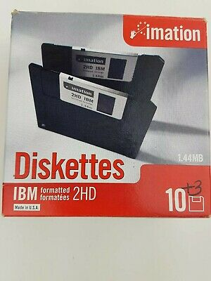 Discontinued by Manufa... Free Shipping Imation 3.5-Inch DS-HD IBM PC Formatted