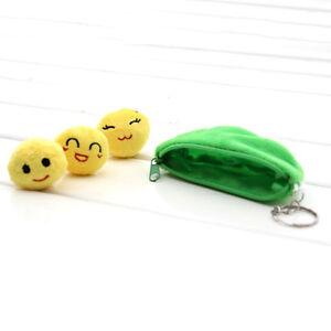 Peasecod-Pea-Doll-Beans-Plush-Stuffed-Keychain-Emoji-Toy-Bag-Pendant-Key-I9Z