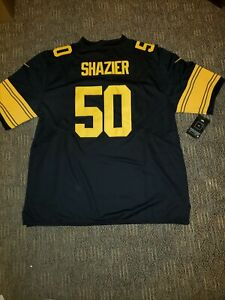 ee0d24f48 Image is loading pittsburgh-steelers-50-Ryan-Shazier-color-rush-jersey-