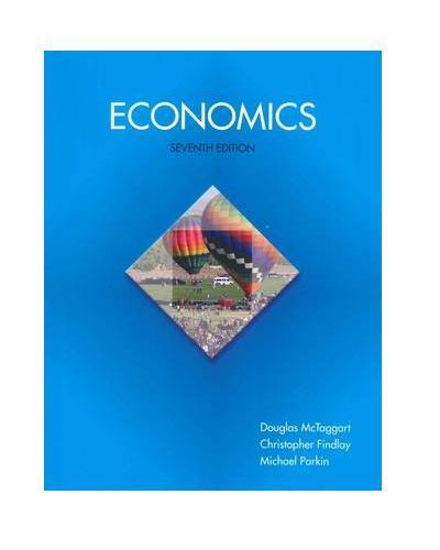 NEW - FAST to AUS / NZ - Economics by McTaggart, Findlay (7 Ed) 9781442550773
