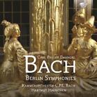 Berlin Symphonies von KCPEB,Hartmut Haenchen (2014)
