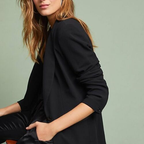 148 Anthropologie Retail Essential Sz 0 Nwt boyfriend Blazer 0w8CCpq