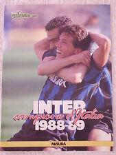 INTER 13° SCUDETTO CALCIO NUMERO UNICO SPECIALE 1988/89 MATTHAUS BERGOMI