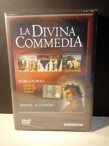 DVD-La-Divina-Commedia-N-12-Purgatorio-Canto-II-III-V-Nuovo-Blisterato