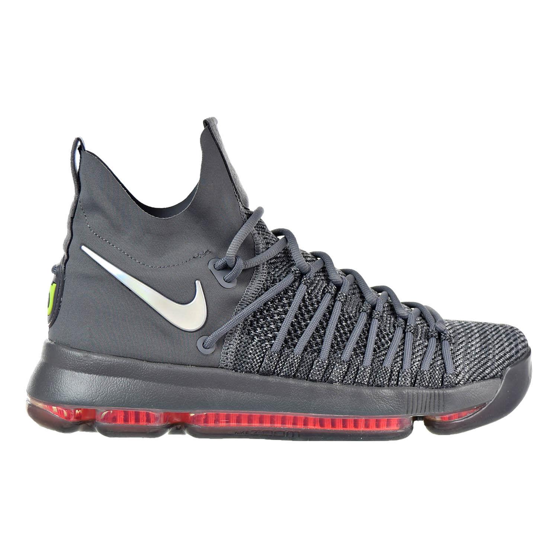 Nike Zoom KD 9 Men's Shoe Dark Grey/Hyper Jade/Sail 909139-013 Wild casual shoes