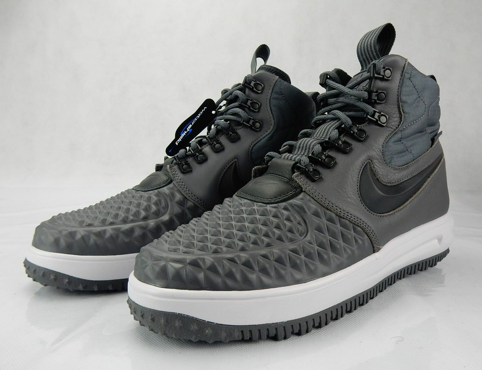 Nike Air Lunar Force 1 Duckboots 916682 003 S Shoes Grey Anthracite Mens Size 10