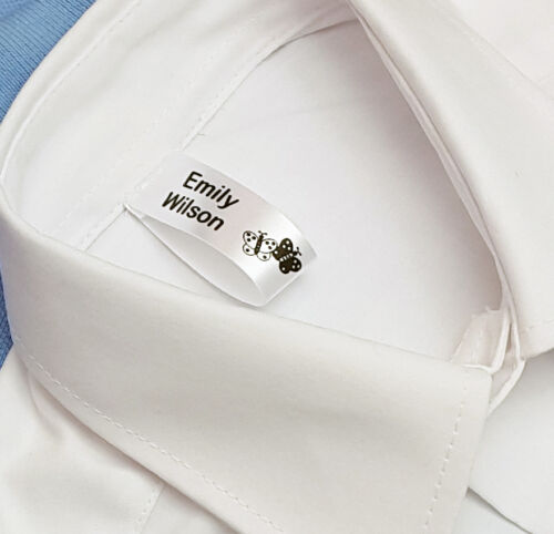 50 Sew nella scuola nome etichette nome tag indumento etichette
