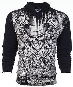 78 capucha hombre de Xtreme Couture con oferta Sudadera con para By Chaqueta Affliction calaveras wwO0Xq