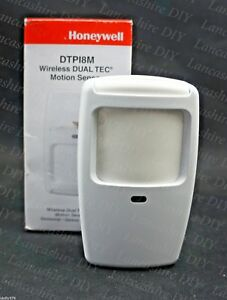 Honeywell-Wireless-DUAL-TEC-15m-x-18m-Pet-Immune-Motion-Sensor-DTPI8M-A479