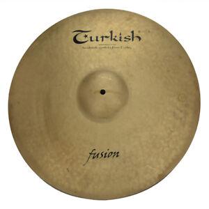 TURKISH-CYMBALS-Becken-21-034-Ride-Fusion-bekken-cymbale-cymbal-2985g