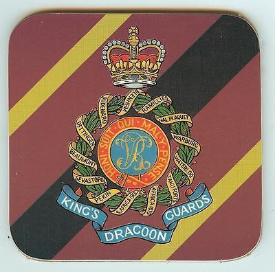 Coaster Army 1st KINGS DRAGOONS GUARDS