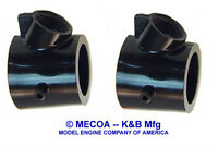 Cox 049 05 Td Tee Dee Model Airplane Engine Carb Carburetor Body Black 2 Pcs