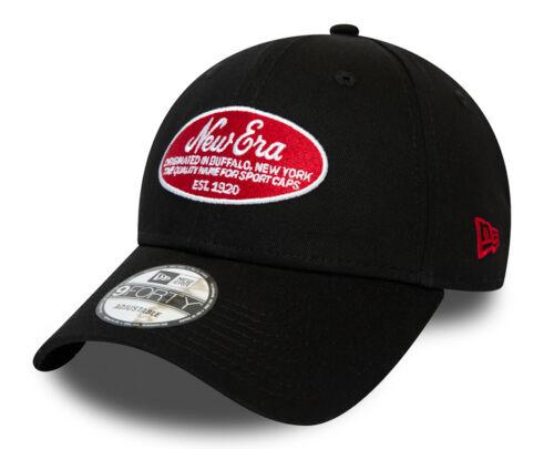 New Era 9Forty Oval Logo Cap Black Größe one size