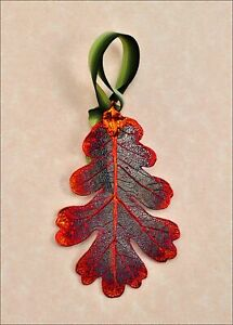 Real-Leaf-Metal-Filigree-Ornament-Oak-Leaf