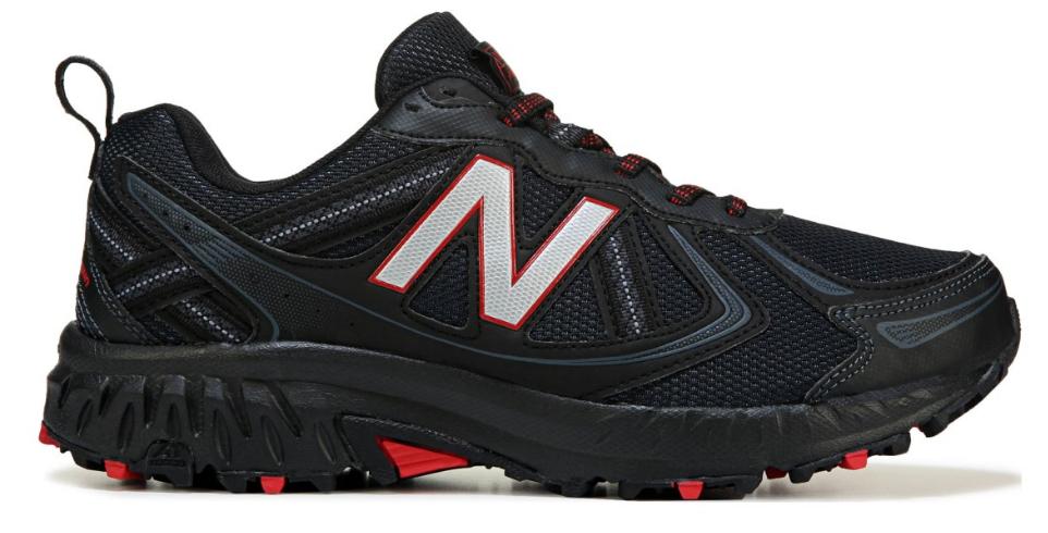 nouveau   Hommes 4E grand Authentique Confortable Soucravaten Trail Chaussure De Course Noir Rouge Nouveau