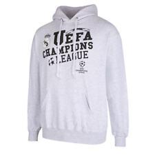 Real Madrid Hoody UEFA Champions League Hoodie Kapuzenpullover Sweater grau