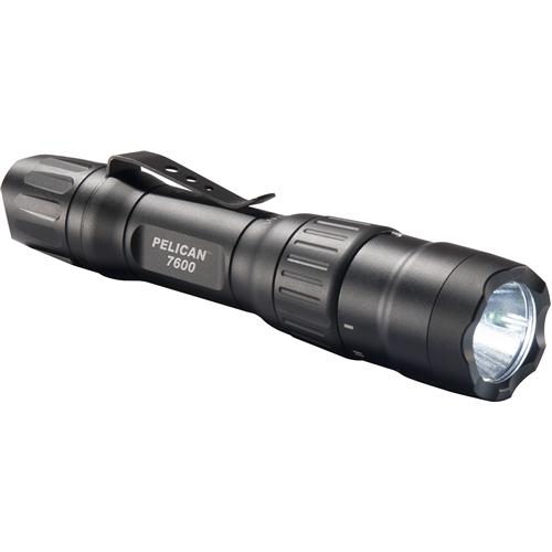 Neu  Pelikan 7600 Wiederaufladbar Taktisch Taschenlampe (Schwarz) 076000 0000